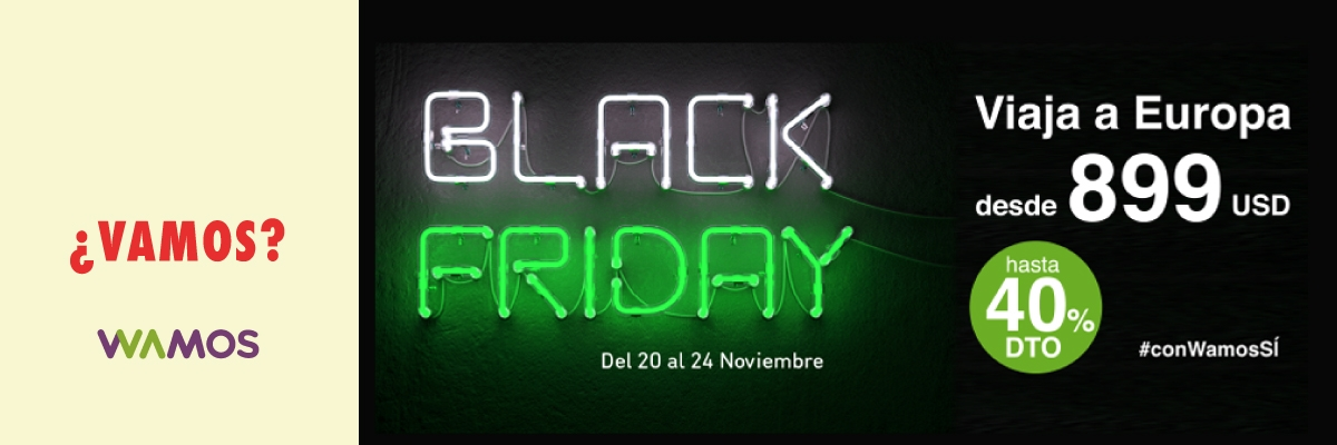BLACK FRIDAY - EUROPA