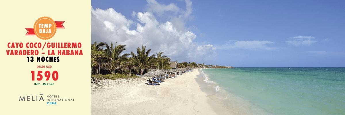 CUBA, LA BAJA CON MELIA
